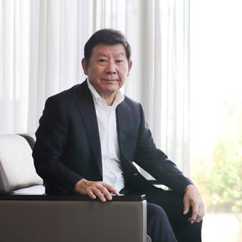 四橋社長の写真